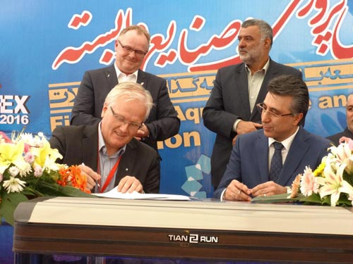 MoU signed between the Pars Ethylene Kish and Norwegian companies