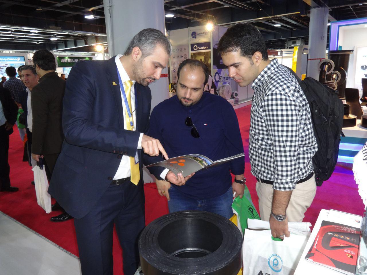 سیزدهمین نمایشگاه بین المللی صنعت آب و فاضلاب -1396