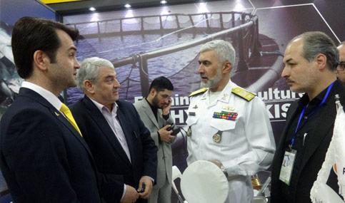 امیر دریادار مهندس رستگاری معاون وزیر رئیس آماد و پشتیبانی نیروی دریایی