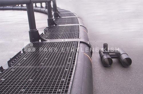 قفس پرورش ماهی پلی اتیلن