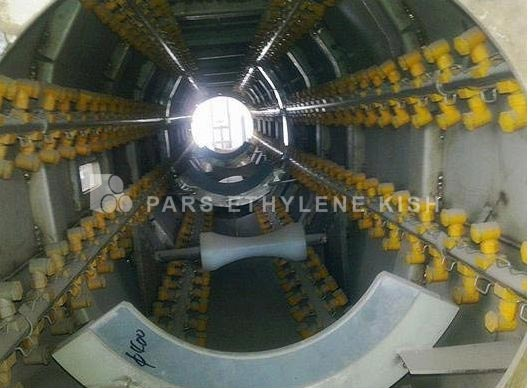 وکیوم تانک خط تولید لوله پلی اتیلن
