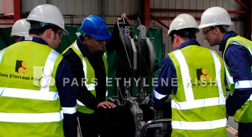 پارس اتیلن کیش تولید کننده لوله پلی اتیلن