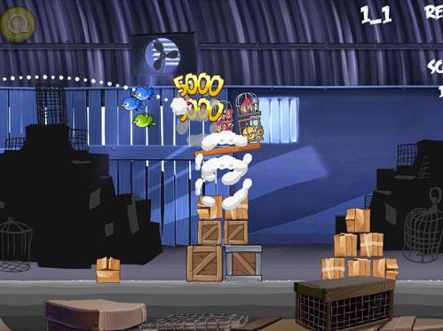 بازی آنلاین پرندگان خشمگین  - Angry Birds