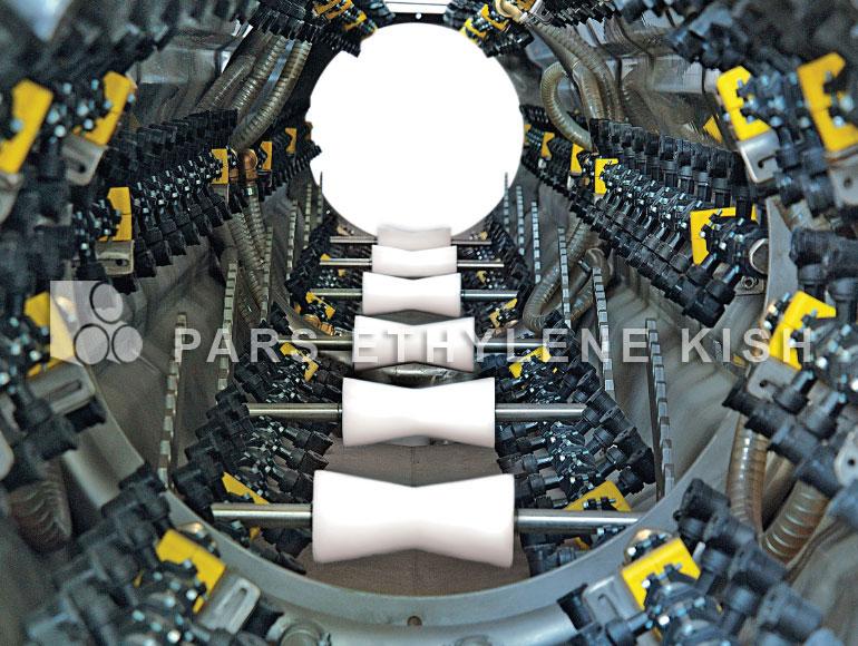 مخزن خنک کننده خط تولید لوله پلی اتیلن