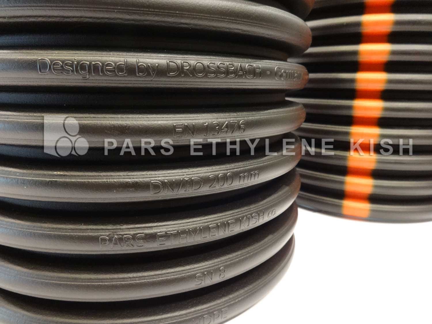 Polyethylene corrugated pipe