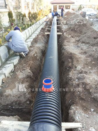 double-wall corrugated polyethylene pipes