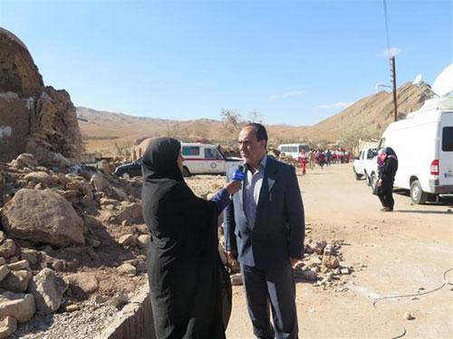 وضعیت آب شرب و شبکه آبرسانی در مناطق زلزله زده اخیر کشور