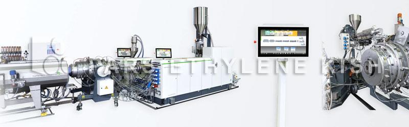 مانیتورینگ خط تولید لوله پلی اتیلن