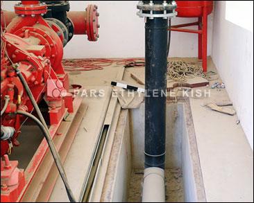 لوله پلی اتیلن در سیستم آتشنشانی