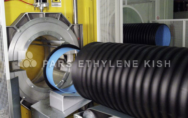 Saw machine and Cutting of polyethylene pipeline