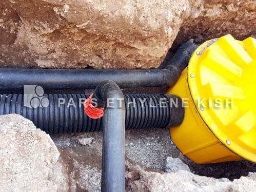 Pars Ethylene Kish PE manhole