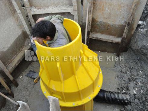 HDPE Pipe Winder