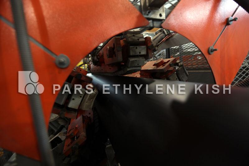 Haul off of Polyethylene pipe
