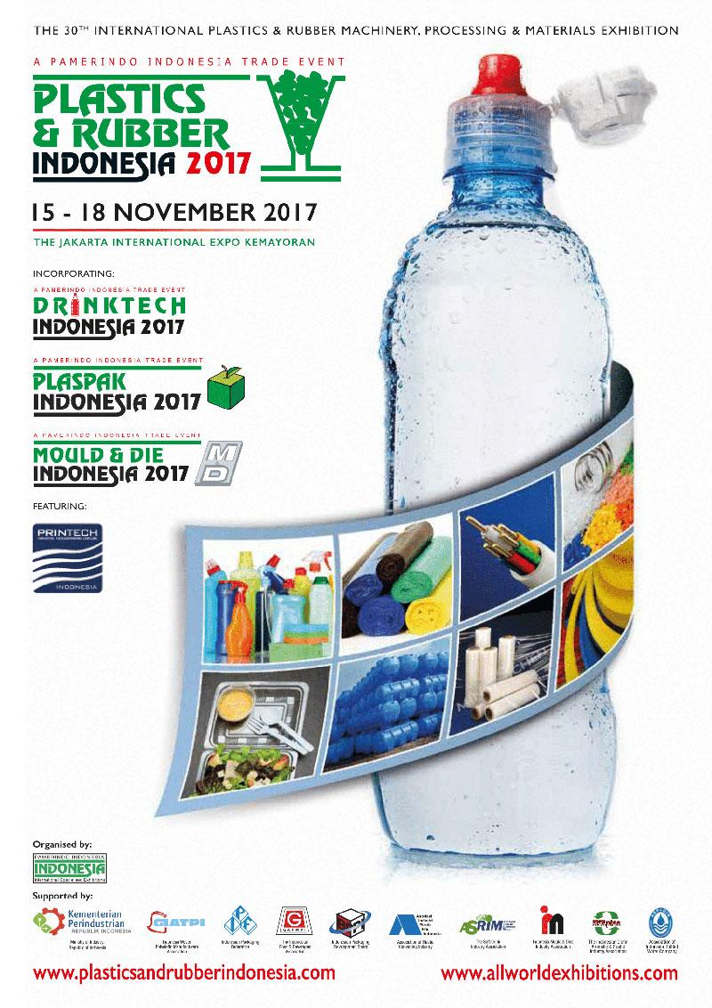 نمایشگاه پلاستیک و لاستیک جاکارتا 2017
