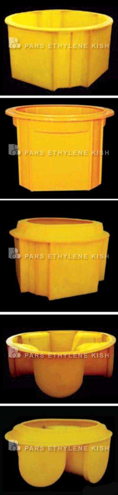 انواع کفی منهول پلی اتیلن
