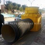 نصب منهول پلی اتیلن-کاربرد منهول در فاضلاب
