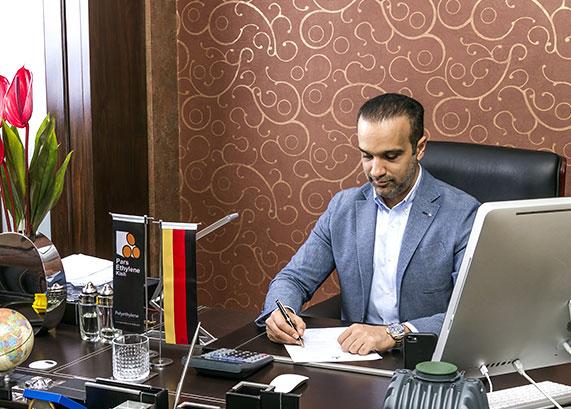 المهندس زندية - مدير تجاري  بارس إتيان كيش