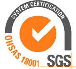 گواهینامه OHSAS 18001 پارس اتیلن کیش