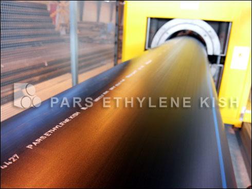 Parsethylene Kish HDPE pipe