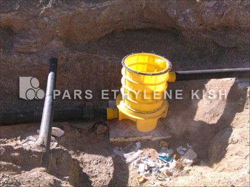 人孔聚乙烯孔在污水中的应用