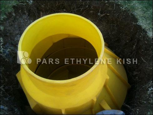 منهول پلی اتیلن-کاربرد منهول در فاضلاب