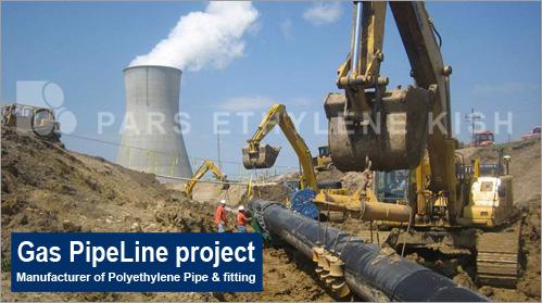 خط لوله گاز - نیروگاههای آبی گازی