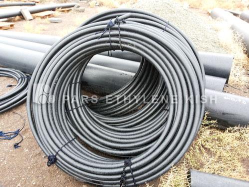 Coil polyethylene pipe