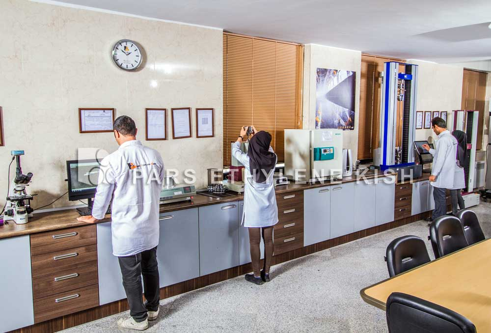 آزمایشگاه تخصصی لوله پلی اتیلن