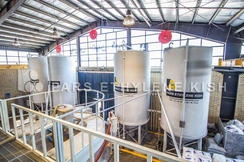 موادکش خط تولید لوله پلی اتیلن