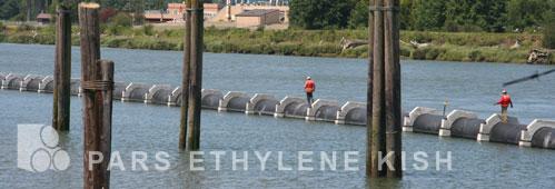 کاربرد لولههای پلی اتیلن در انتقال آب دریا