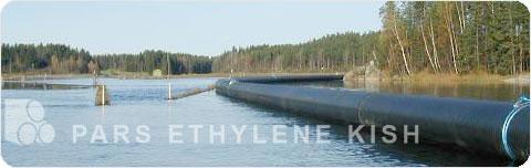 کاربرد لوله های پلی اتیلن پارس اتیلن کیش در دریا و انتقال آب