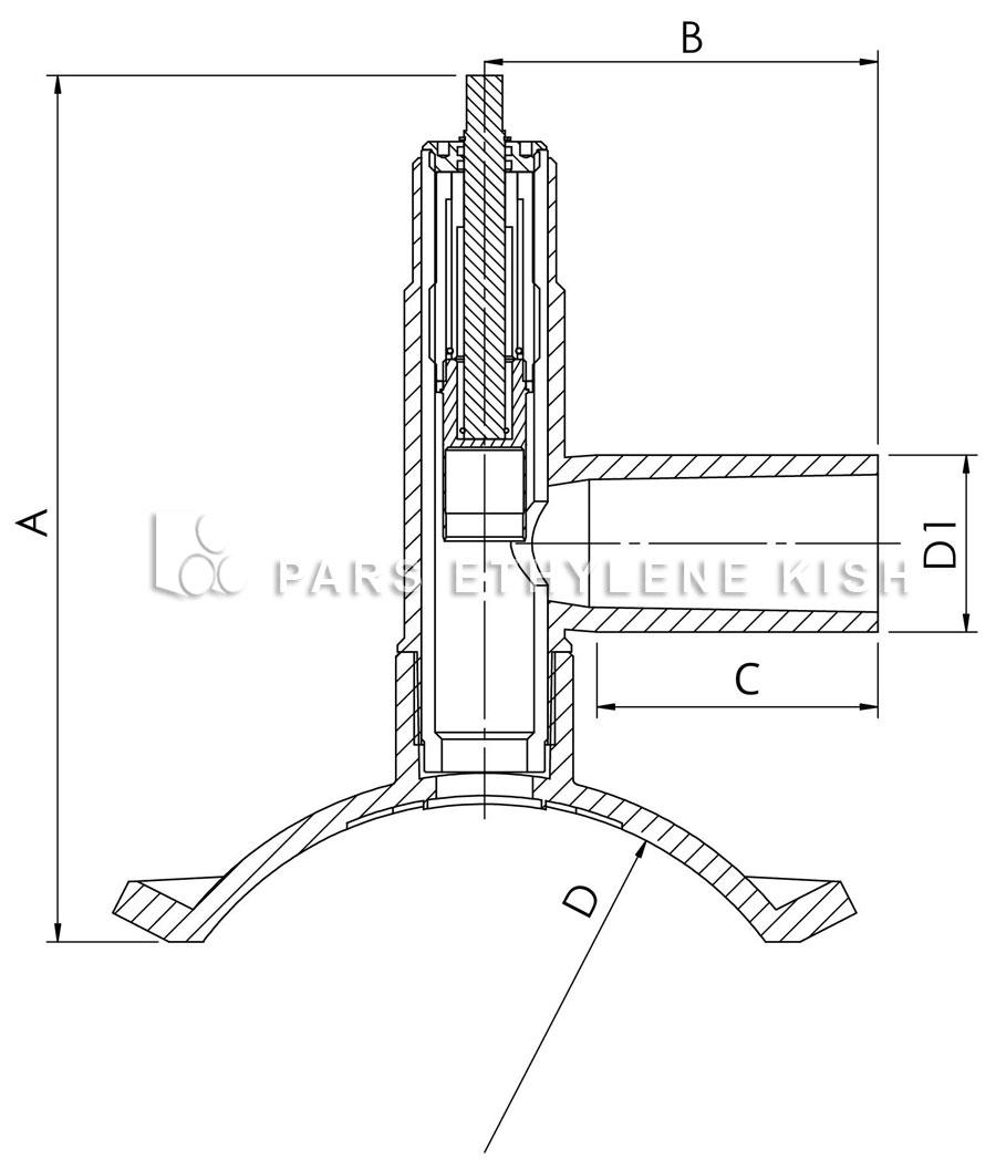 کمربند سه راهی شیردار الکتروفیوژن SDR 11