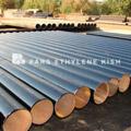 پوشش لوله های فولادی با مواد قیری یا قطرانی به طریق گرم