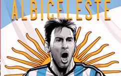 پوستر تیم ملی آرژانتین