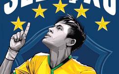 پوستر تیم ملی برزیل