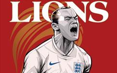 پوستر تیم ملی انگلستان
