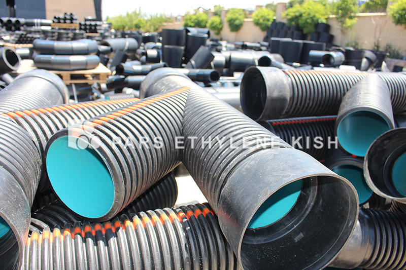 fitting Corrugated Pipes