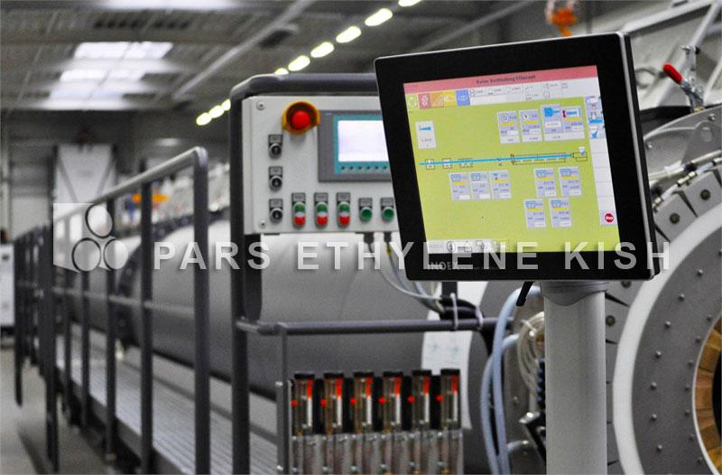 گراویمتریک خط تولید لوله پلی اتیلن