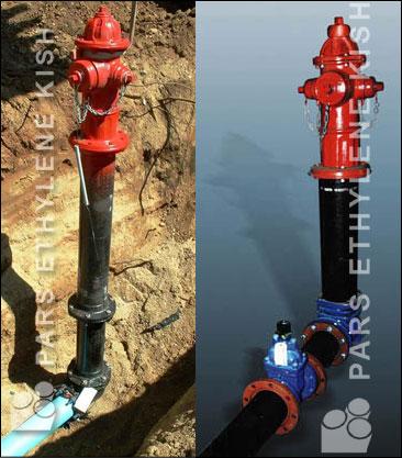 کاربرد لوله و اتصالات پلی اتیلن در آتش نشانی