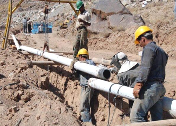 عملیات گاز رسانی