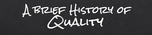 تاریخچه کیفیت